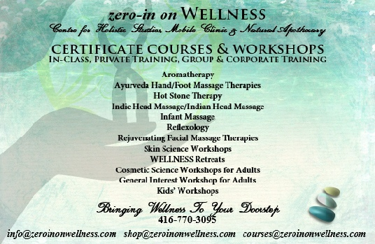 2017 Wellness & Holistic Training Retreats & Course Schedule